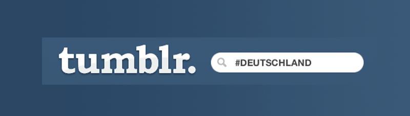 Facebook Tumblr Blogger Deutschland