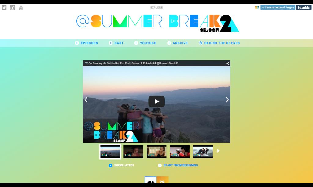 @SummerBreak Season 2