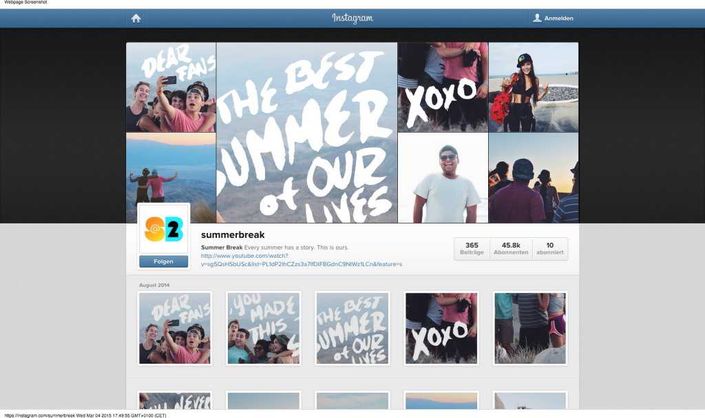 Summer Break  @summerbreak  • Instagram-Fotos und -Videos